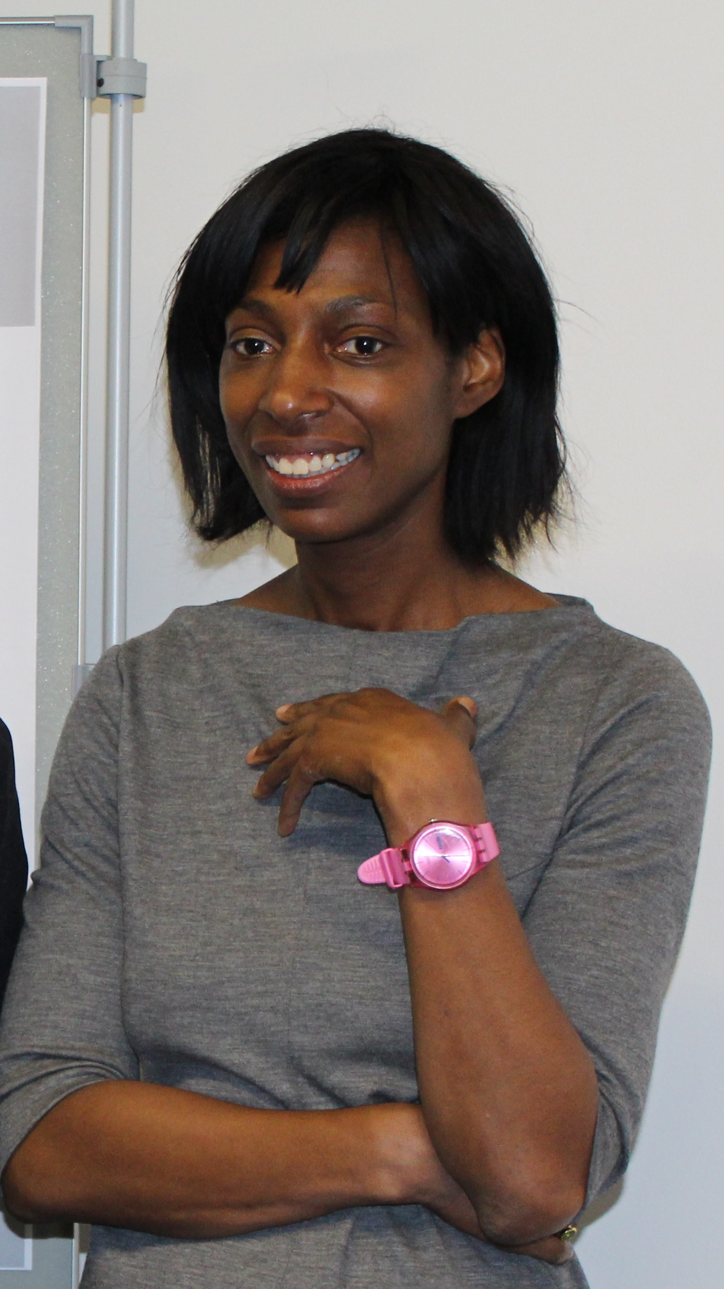 Sharon White pictured on a return to Fitzwilliam