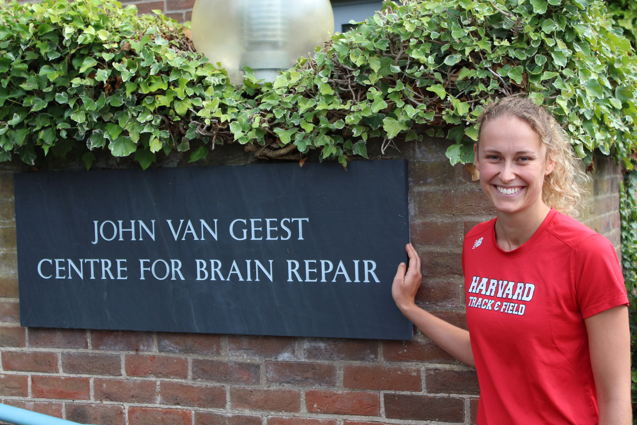 Lea Wenger at the Centre for Brain Repair