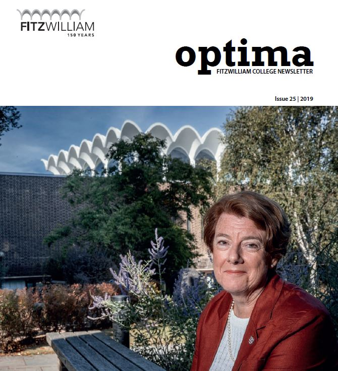 Sally Morgan was interviewed in Optima Magazine