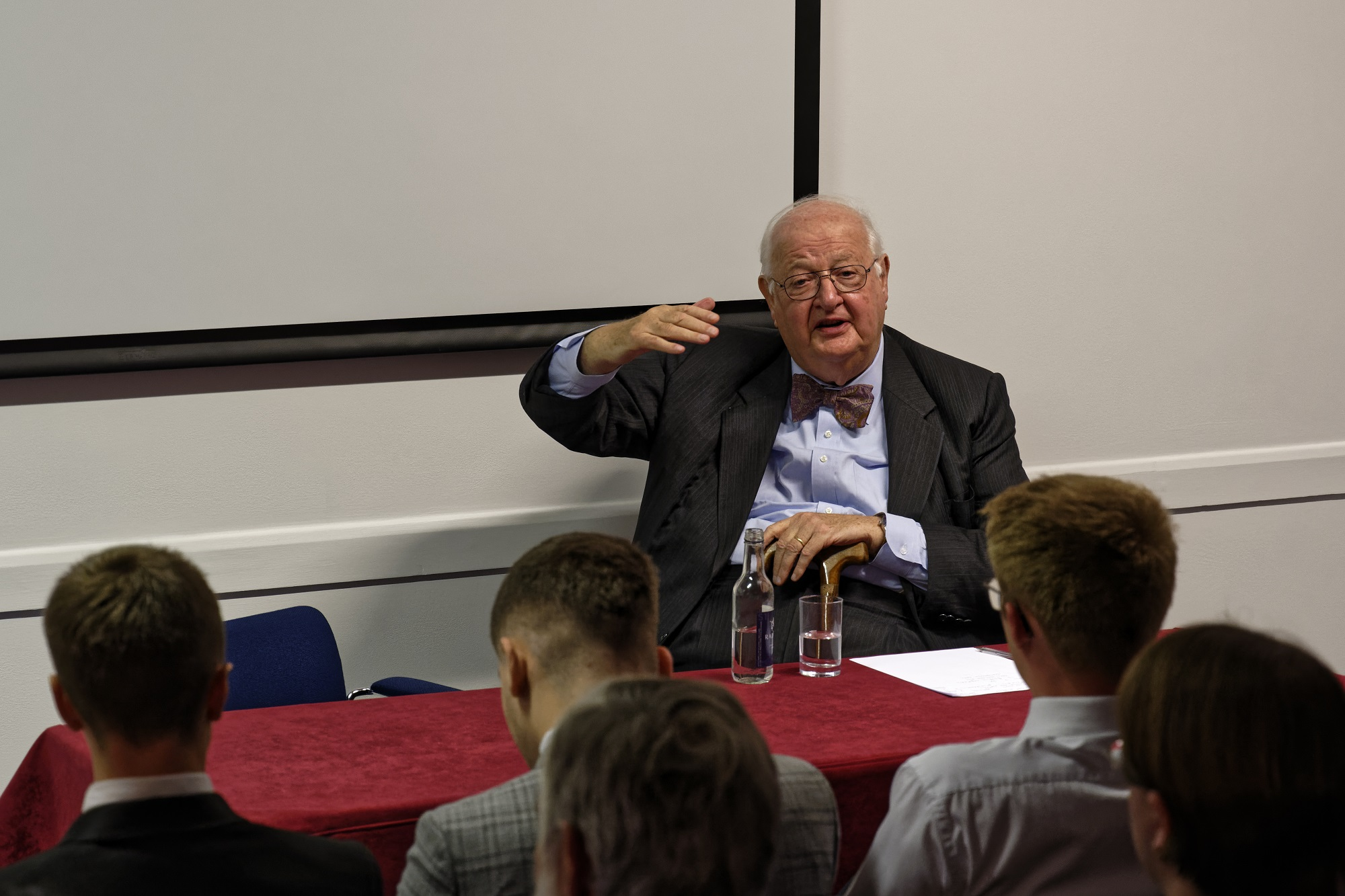 Professor Sir Angus Deaton returned to Fitzwilliam on Tuesday