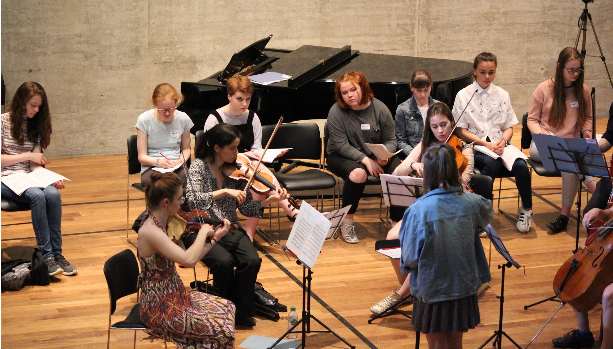 Young Women's Conducting Workshop, Fitzwilliam College, Cambridge