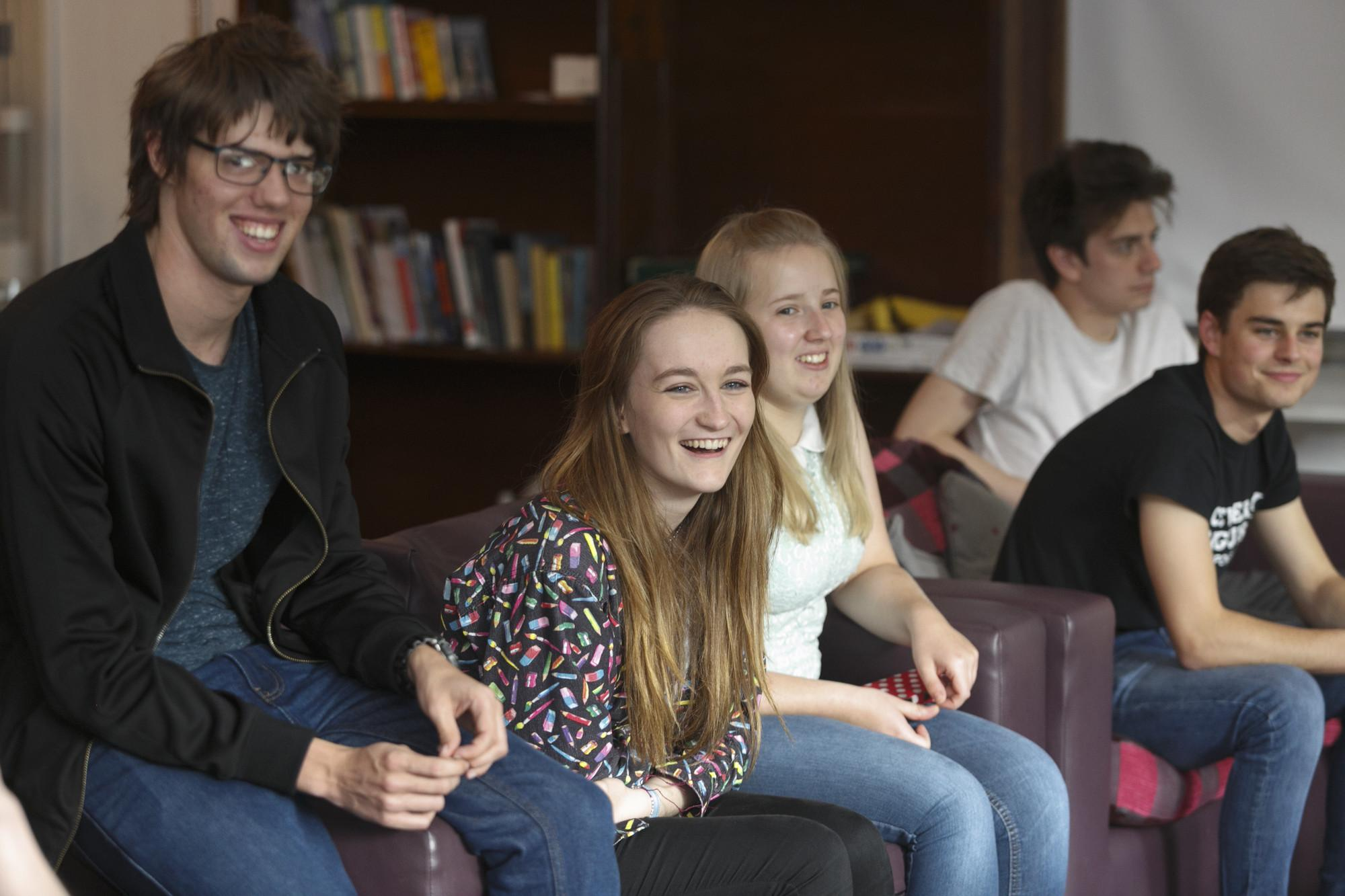 Students at Fitzwilliam College, Cambridge