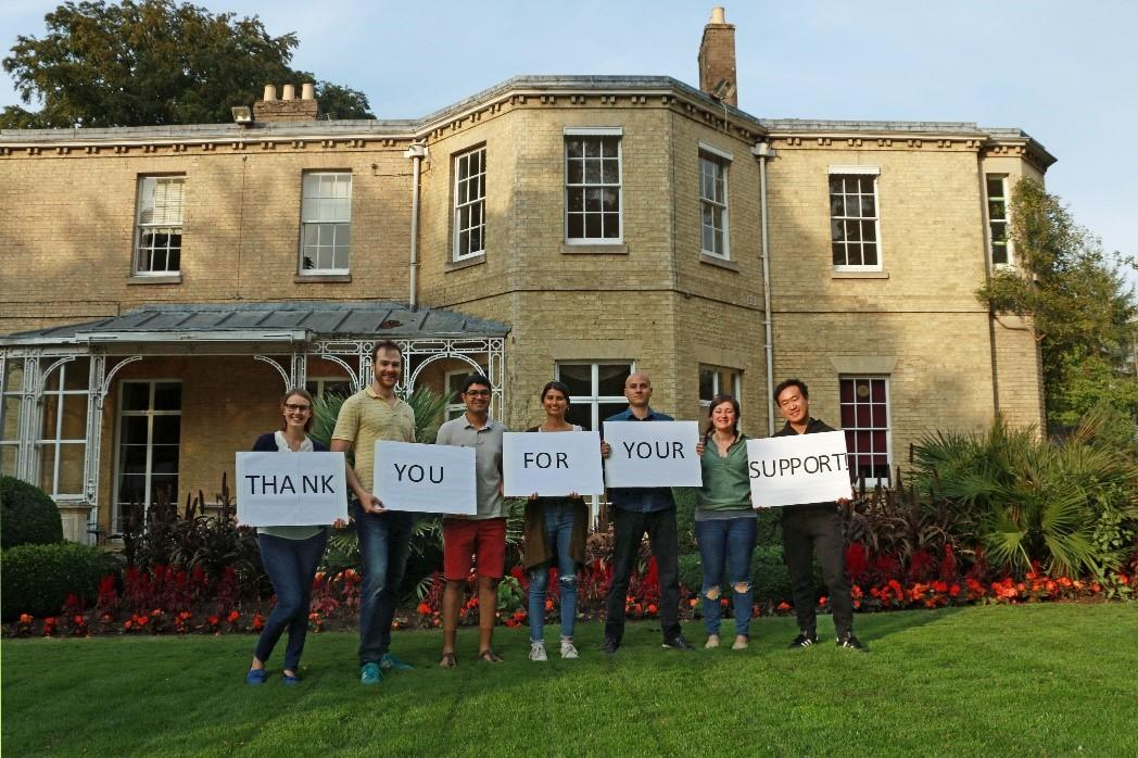 Thank you for your support - MCR extension