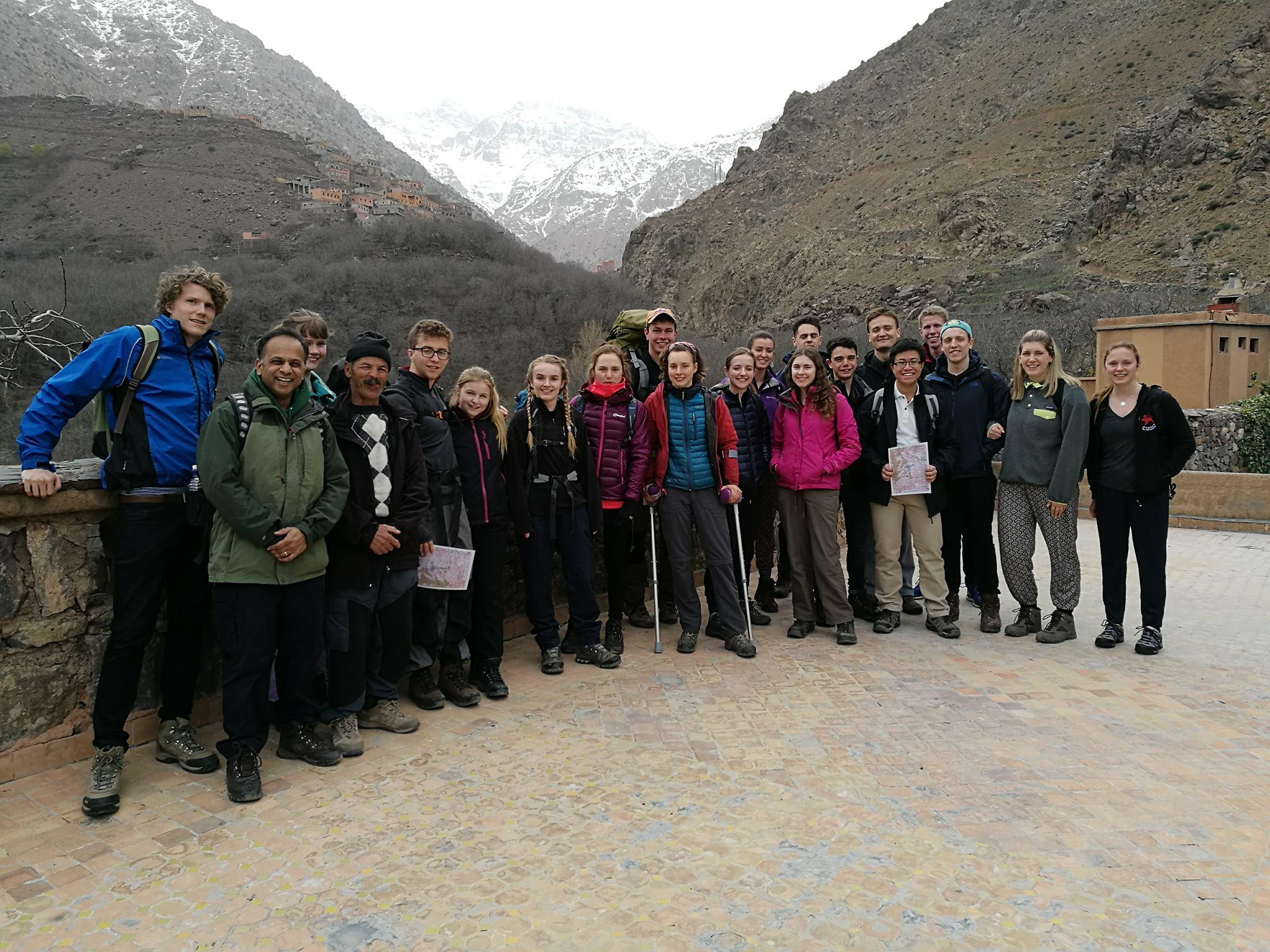 Geography field trip with Prof Bhaskar Vira 2017