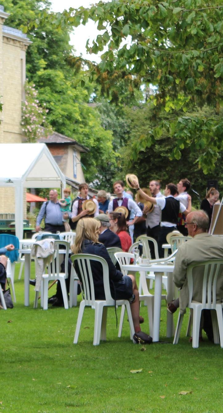 The Donors' Garden Party was held on Saturday 15 June