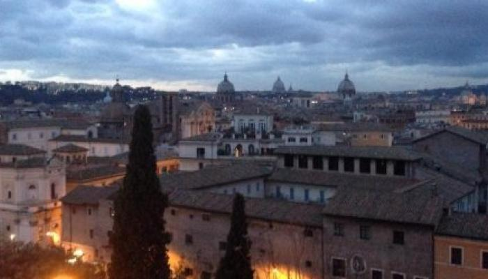 Rome Skyline Alex Rutterford