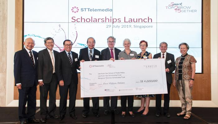 undergraduate scholarship launch