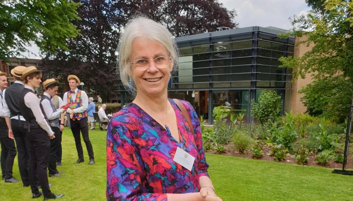 Professor Nicola Padfield pictured at Fitzwilliam College