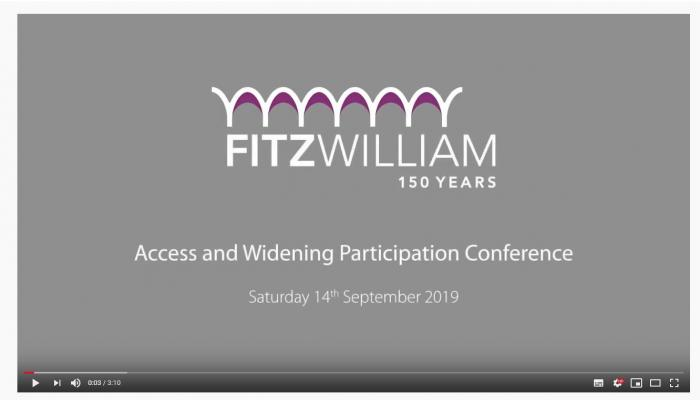 Video highlights from the Access and Widening Participation Conference