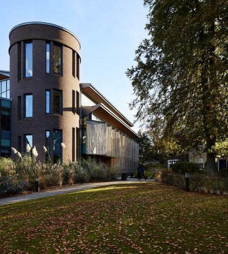 Olisa Library, Fitzwilliam College Cambridge