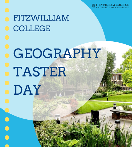 Geography Taster Day Poster