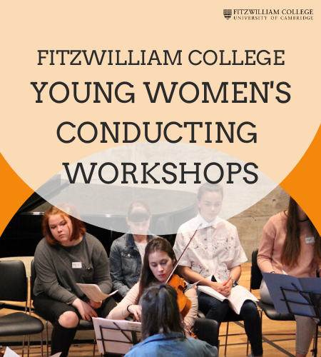 Young Women's Conducting Workshops Poster