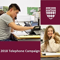2018 Telephone Fundraising Campaign begins