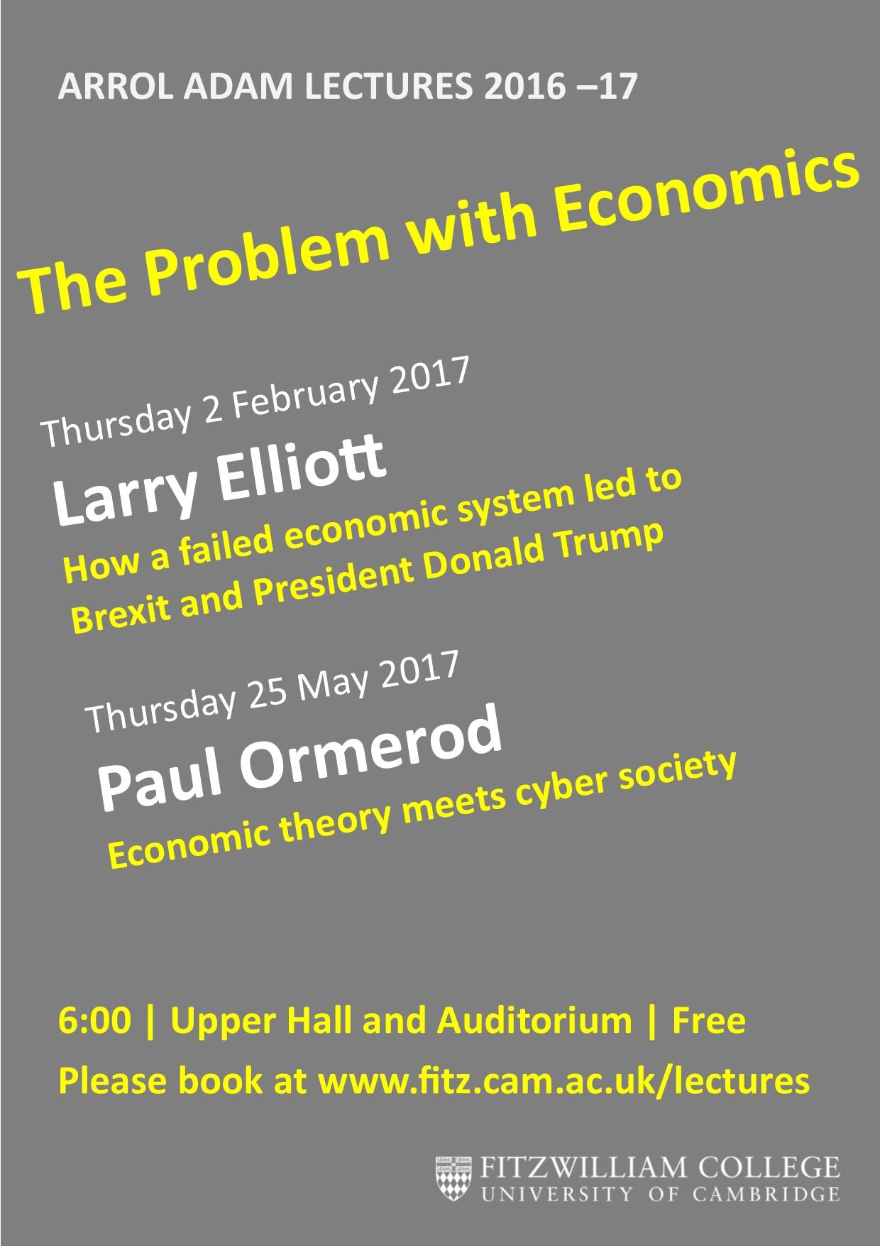 Arrol Adam Lectures 2017