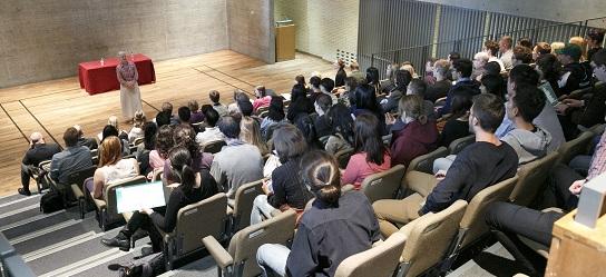 Auditorium Fitzwilliam College, lecture