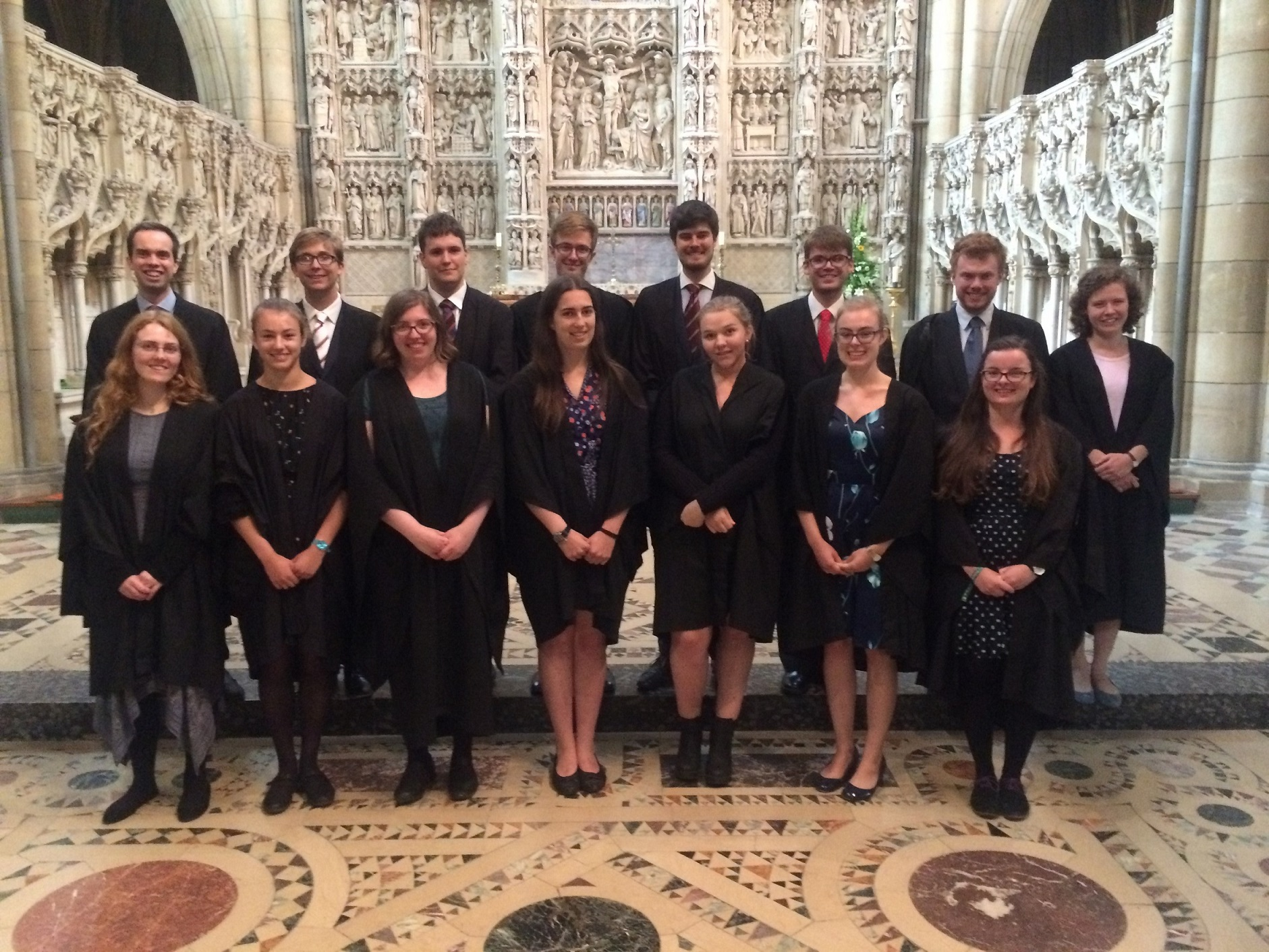 Fitzwilliam College Chapel Choir visit Truro Cathedral July 2017