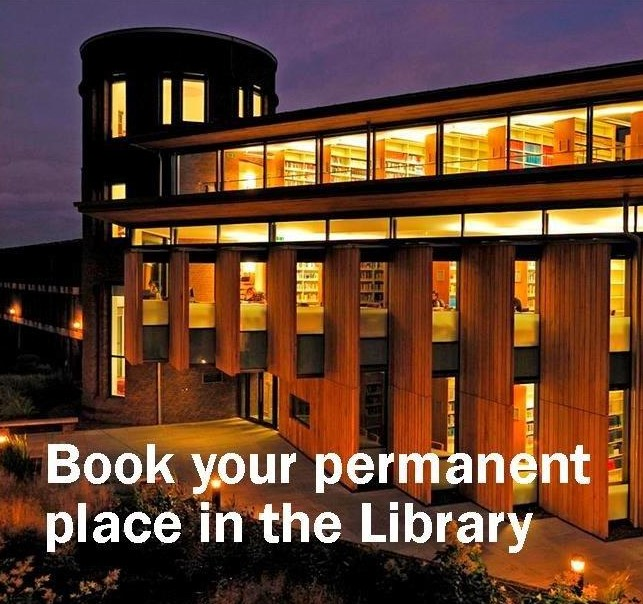 Book your place in the Library