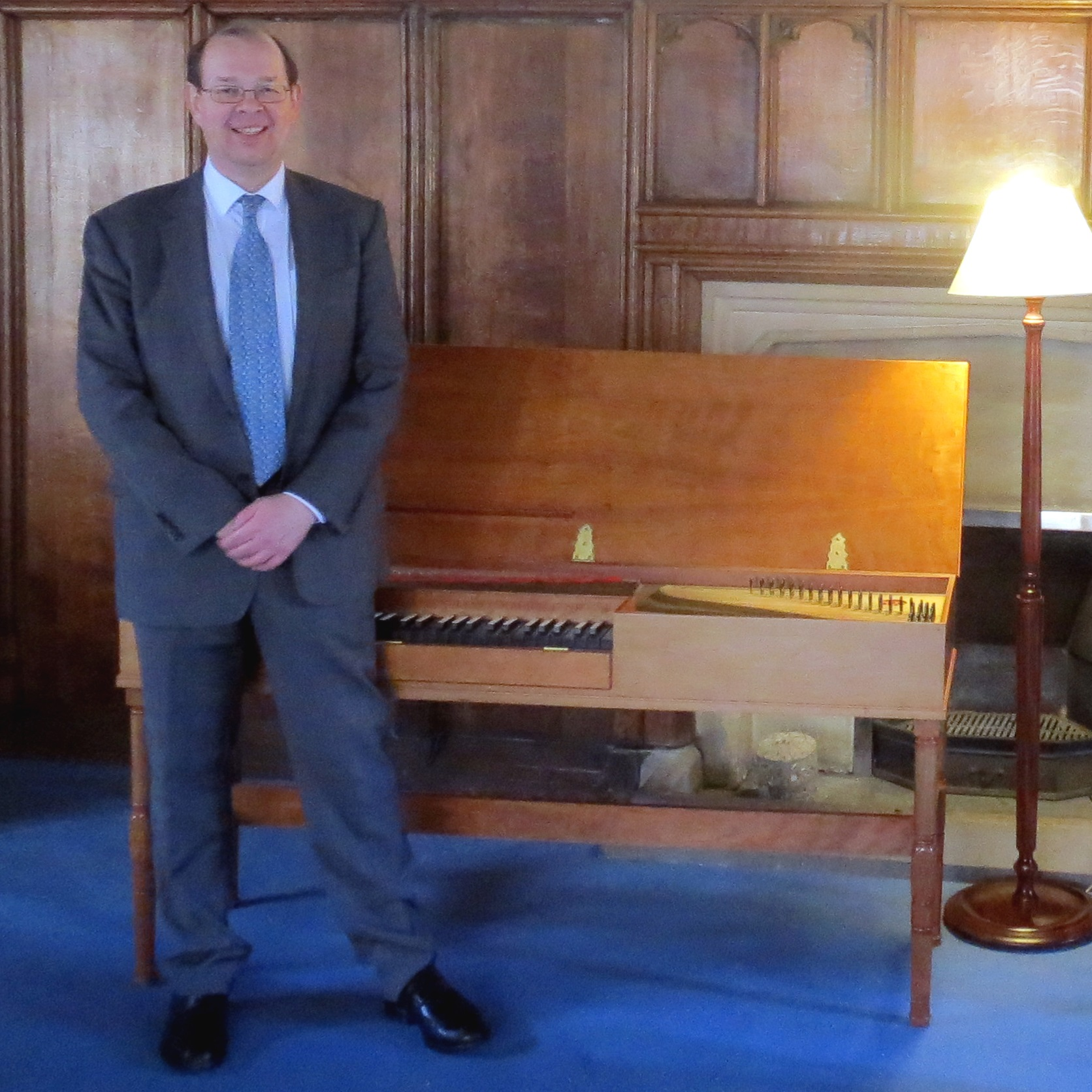 Fitzwilliam College Music Fellow Francis Knights