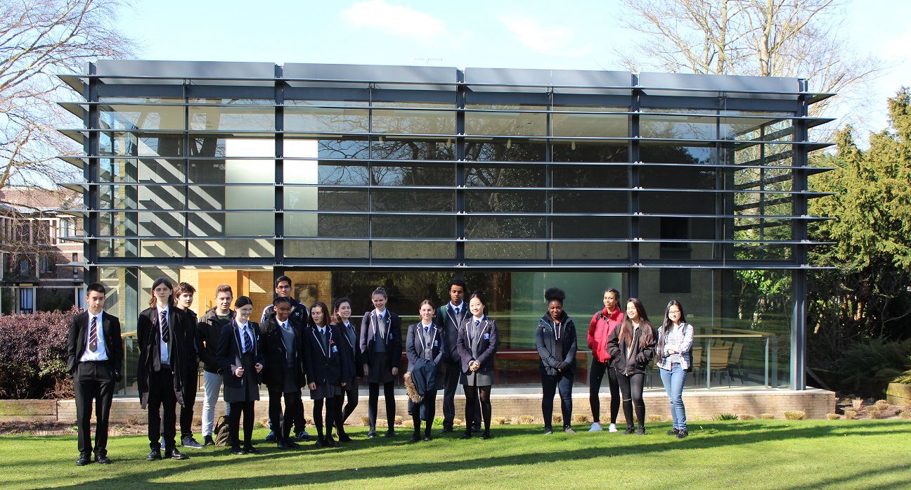 School visit to Fitzwilliam College, Cambridge - March 2017