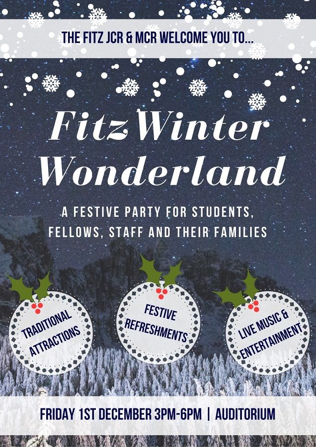 Winter Wonderland Party Auditorium 1 December 2017