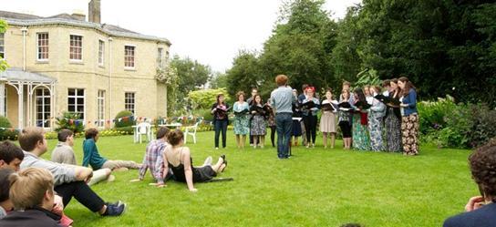 music society garden party