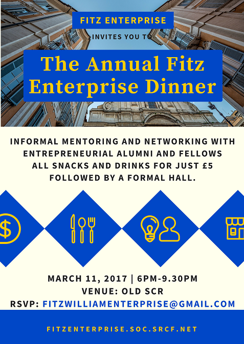 Fitz Enterprise Society Annual Dinner