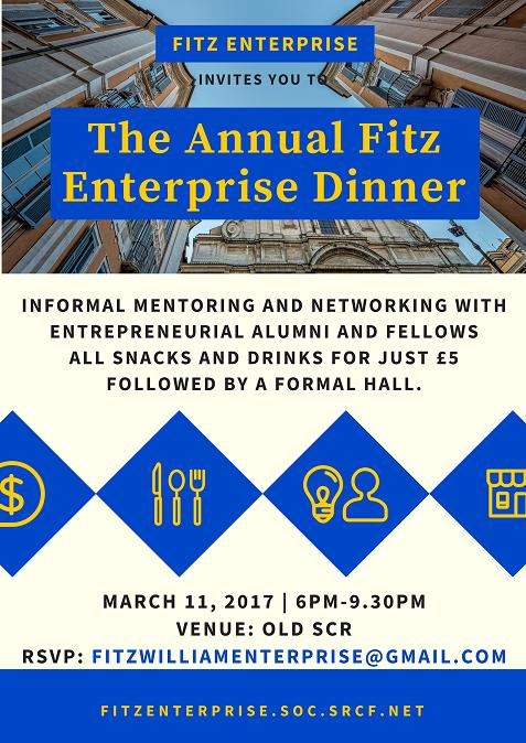 Fitz Enterprise Society Annual Dinner
