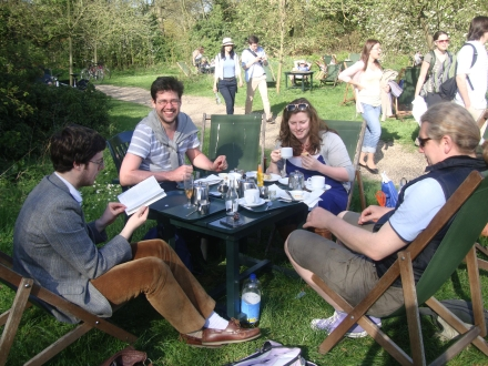 Tea in The Orchards at Grantchester