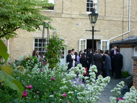Matriculation pre-dinner drinks