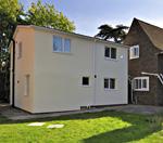 Neale House flats - outside