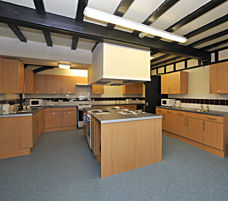 139 Huntingdon Road Hostel - Kitchen