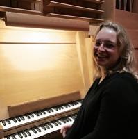 Anna Sozanska, Organ Scholar, Fitzwilliam College, Cambridge