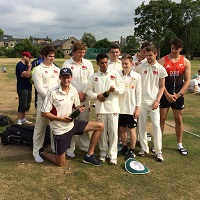 Fitzwilliam College cricket Cuppers winners 2017