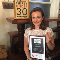 Fiona Kessler, Fitzwilliam College Cambridge alumna, named UK media rising star