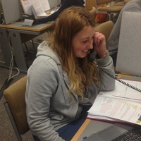 Student caller - 2016 Telephone Fundraising Campaign