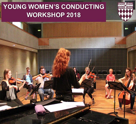 Young Women's Conducting Workshop at Fitzwilliam College, Cambridge