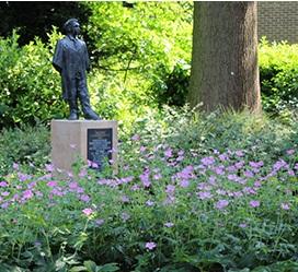 First Undergraduate statue