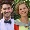 Dr Brendan Dyck and Dr Hazel Wilkinson, Bye-Fellow and Fellow of Fitzwilliam College Cambridge