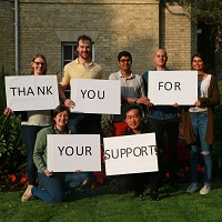 Thank you for your support MCR works